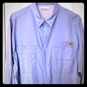 Long sleeve Columbia fishing shirt